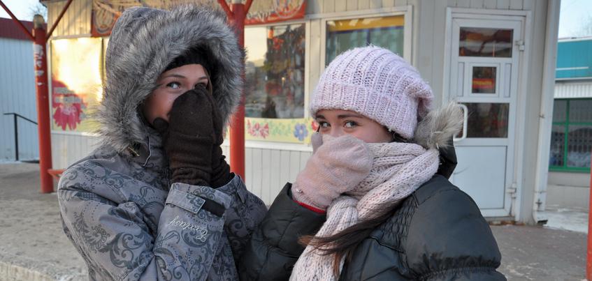 Погода в Ижевске: похолодание до -20°С