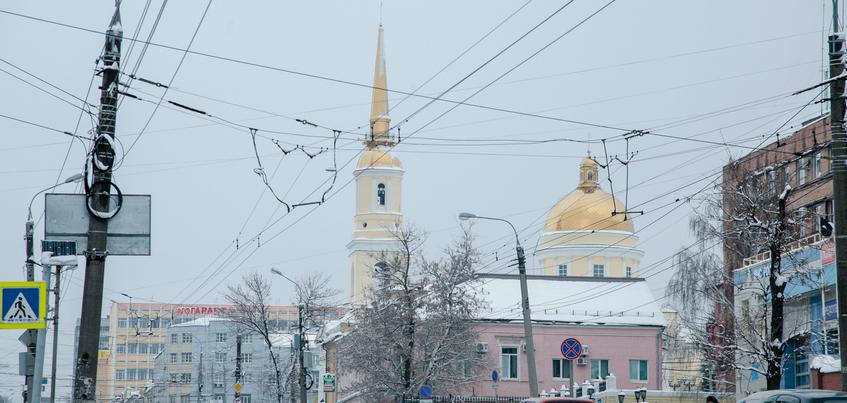 Погода в Ижевске: похолодание до -21°С и почти без осадков