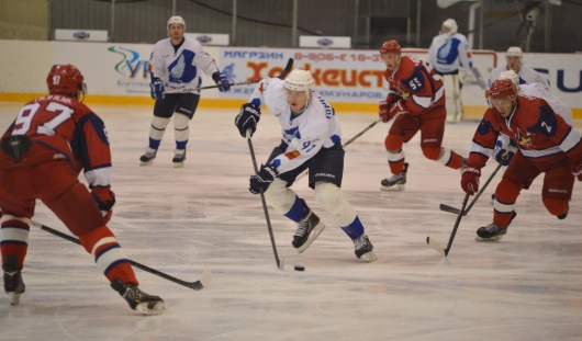 Ижевские хоккеисты одержали победу над СКА-«Карелия»