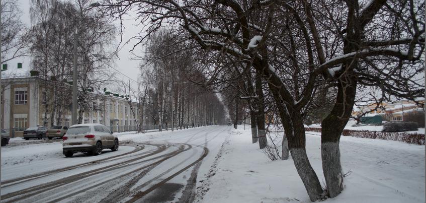 Погода в Ижевске: потепление до -4°С и снегопады