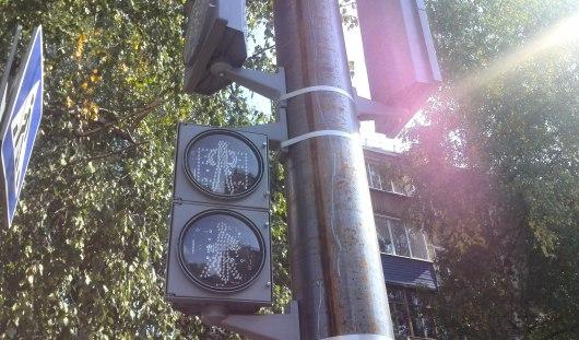 В Ижевске установили светофор на перекрестке улиц Воровского и Краева