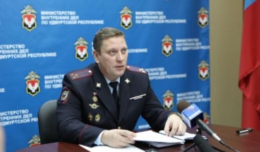На должность начальника управления МВД по Ижевску назначен полковник Александр Никитин