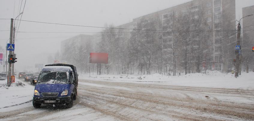 Усиление ветра ожидают в Ижевске