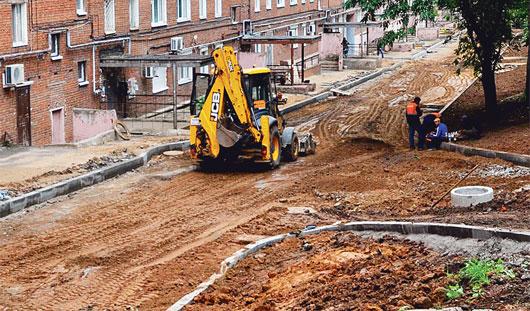 Более ста дворов отремонтируют в Ижевске