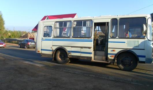 В Можге автобус сбил женщину на пешеходном переходе