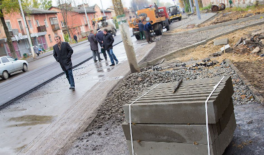 Когда будет отремонтирован тротуар, ведущий к школе № 20 в Ижевске?