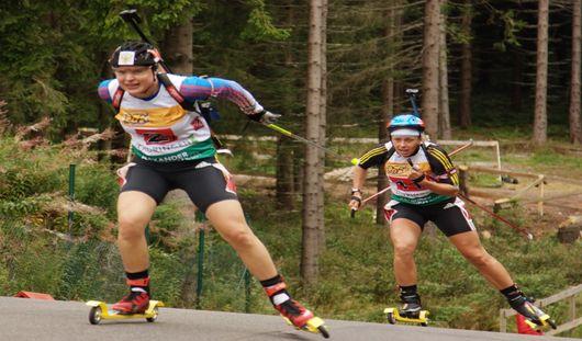 Юные биатлонисты Удмуртии взяли золото на первенстве России