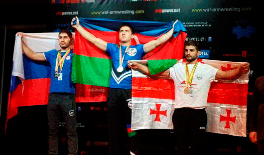Ижевчанин занял второе место на чемпионате мира по армрестлингу