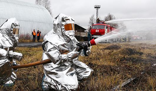 В Удмуртии в пятницу на трассе Ижевск - Можга пройдут учения пожарных и спасателей