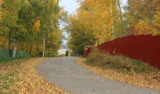 В Ижевске на Совхозной около кардиологического центра сделали тротуар