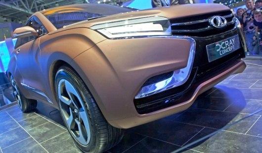 Кроссовер Lada XRay будет стоить около 500 000 рублей
