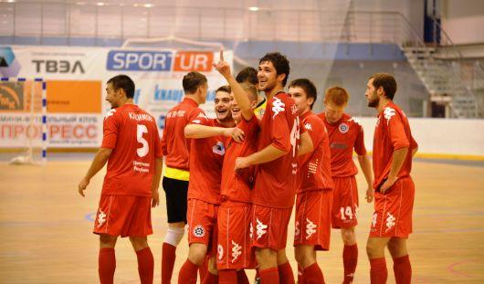 Глазовский мини-футбольный клуб «Прогресс» проведет игру на выезде с «Синарой»