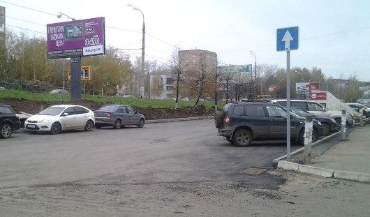 В Ижевске отремонтировали парковку у ТЦ «Аврора»