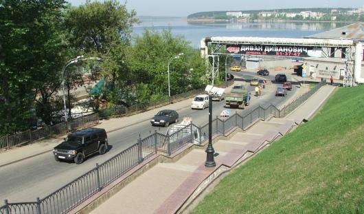 В Ижевске на проезде Дерябина запретили остановку