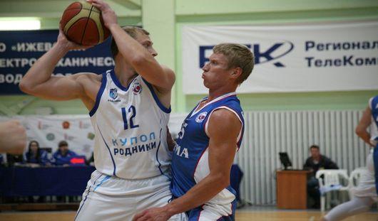 Баскетболисты Ижевска одержали первую победу в сезоне