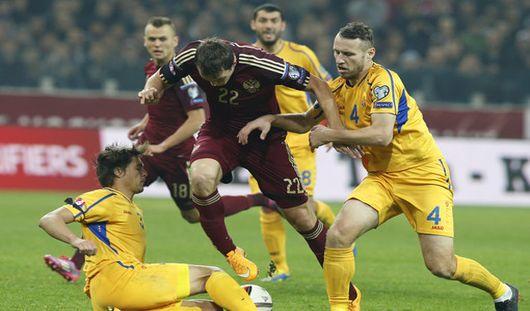 Российские футболисты не смогли выиграть у сборной Молдавии