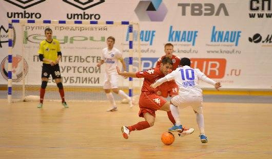 Мини-футболисты из Удмуртии проиграли на выезде со счетом 5:3
