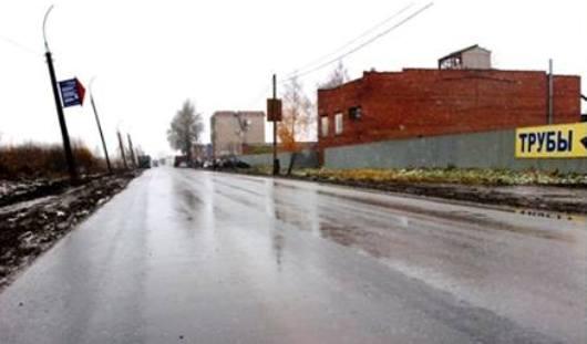 Завершен ремонт дороги на улице Пойма в Ижевске