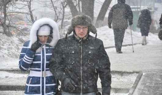 Снежная погода ожидает ижевчан в выходные