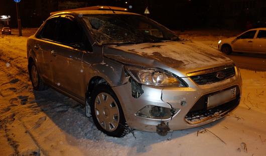 В Ижевске под колеса легковушки попали три пешехода