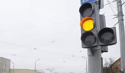 В Ижевске на перекрестке улиц 10 лет Октября и Щорса не работает светофор