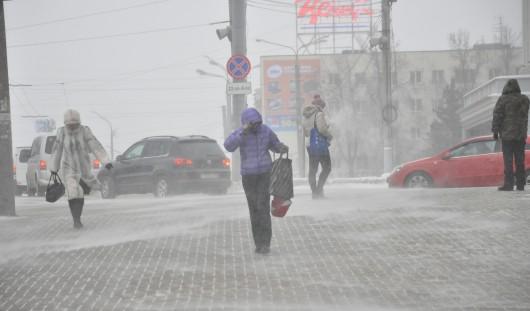 24 октября в Ижевске ожидается слабая метель