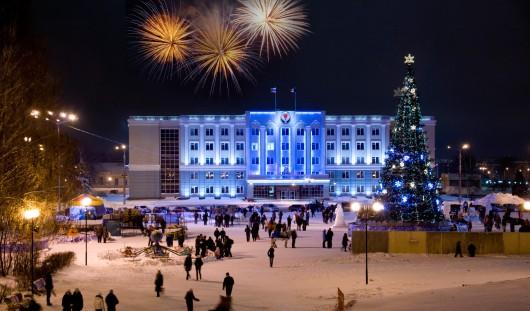 На ледовый городок в Ижевске потратят около 2 млн рублей