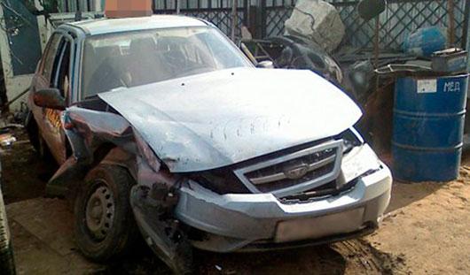 Водителя «Прадо», который два года назад устроил гонки за таксистом в Ижевске, освободили от наказания
