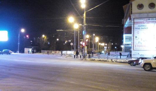 В пятницу улицу Авангардную в Ижевске закрыли для движения транспорта