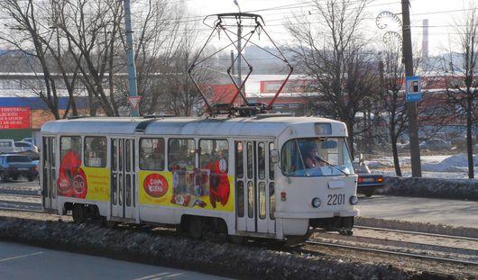 Есть вопрос: что делают в Ижевске со старыми трамвайными вагонами