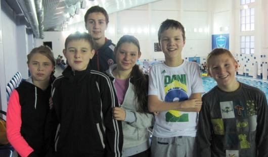 Первый этап Кубка России по плаванию принес Удмуртии 6 медалей