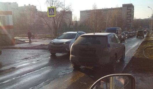 В Ижевске на пешеходном переходе сбили мальчика