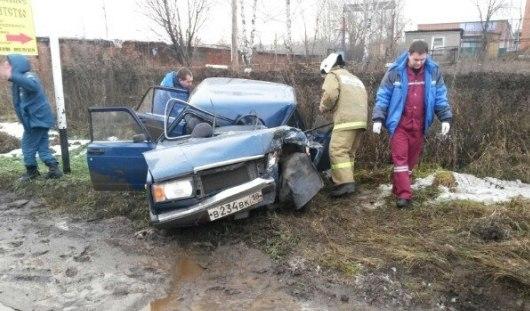 Пьяный водитель выжил в страшной аварии в Удмуртии
