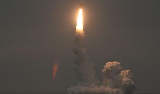 Пуск воткинской ракеты «Булава» из акватории Баренцева моря прошел успешно