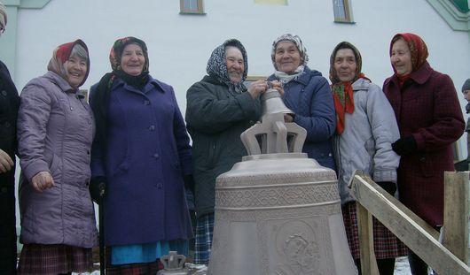 В Удмуртии в храме «бурановских бабушек» установили колокола