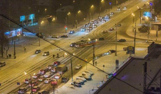 Экстремальный октябрь в Ижевске