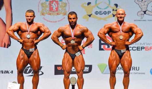 Атлет из Удмуртии выиграл бронзу на чемпионате России по бодибилдингу