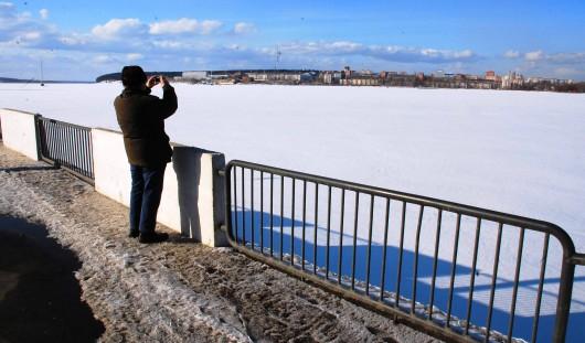 Спасатели назвали самые опасные места на Ижевском пруду