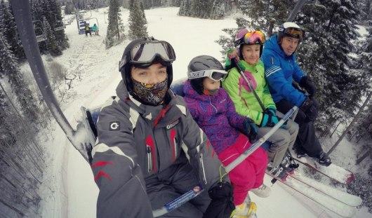 Ижевчане открыли горнолыжный сезон
