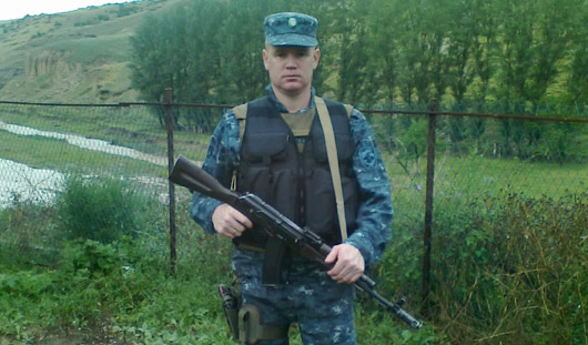 В Книгу памяти МВД по Удмуртии внесено имя полицейского Петра Шихова