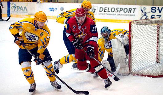 Хоккеисты Ижевска матч с командой Пензы завершили победой с минимальным счетом