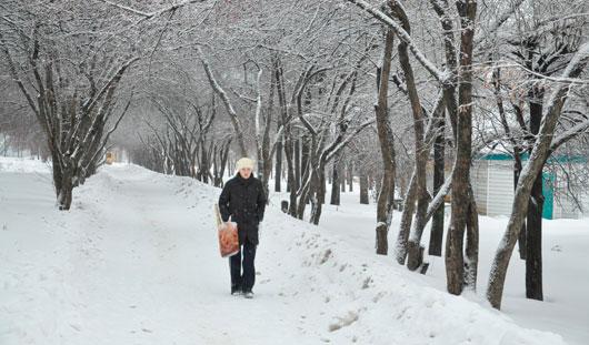 Когда в Ижевск придет долгожданная зима
