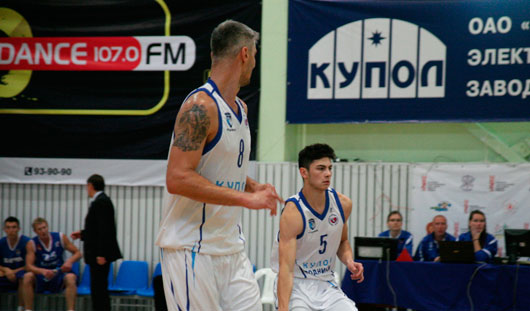 Ижевские баскетболисты уступили резервной сборной России