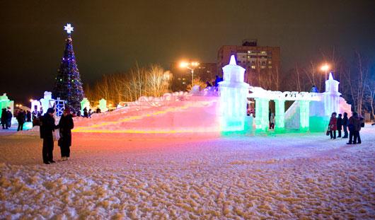 Щелкунчик, Крысиный король и Дед Мороз: какие скульптуры изо льда появятся в Ижевске