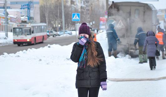 В выходные столбик термометра в Удмуртии опустится до -17 градусов