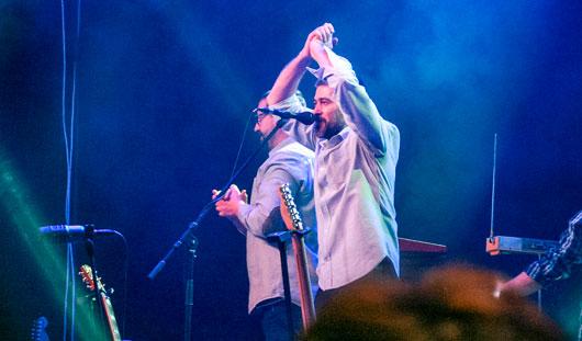 На концерте группы «Сплин» ижевчане выстроились в стометровую очередь