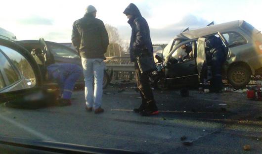 В аварии на трассе Ижевск - Воткинск погибли два человека