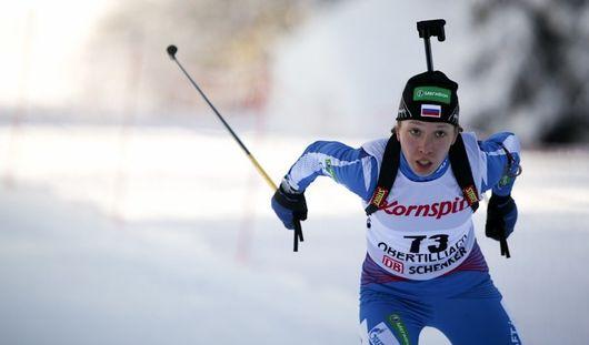 Биатлонистка из Удмуртии Ульяна Кайшева победила в контрольном спринте в Тюмени