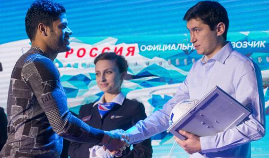 Ижевчанин занял 2-е место в конкурсе «Раскрась самолет «Зенита»