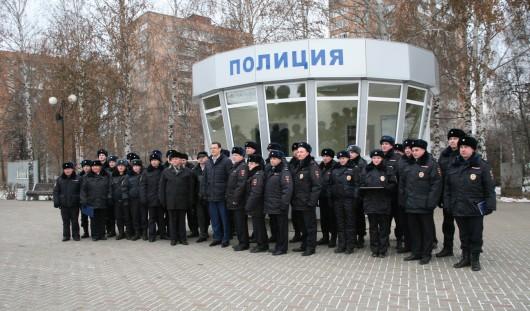 В Ижевске на Центральной площади открылся новый пост полиции